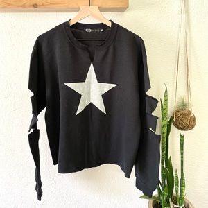 JET John Eshaya star sweatshirt